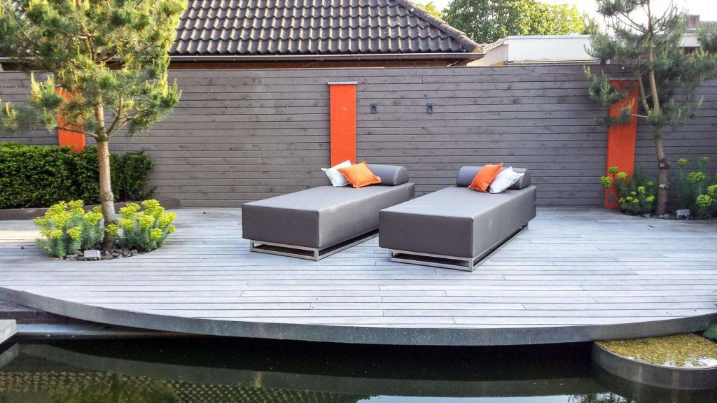 outdoor 2 seater daybed